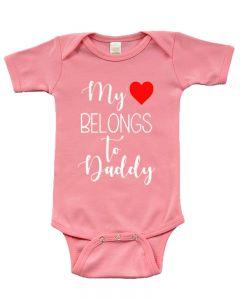 My Heart Belongs to Daddy Bodysuit