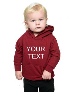 Infant Fleece Hoddie - Personalize it