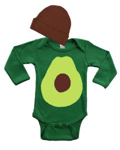 Avocado Baby Outfit