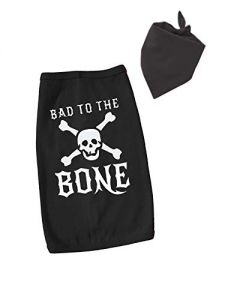 Bad to the Bone Dog Costume