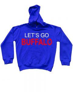 Lets Go Buffalo Kids Hoodie