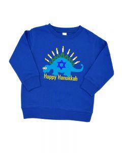 Happy Hannukkha Fleece Sweatshirt