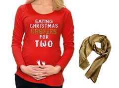 Eating Cookies for Two Maternity Set