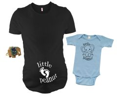 Gender Reveal Maternity Outfit, Baby Shower Gift set