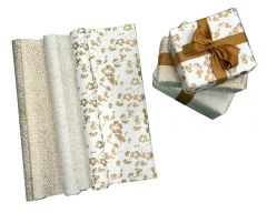 Handmade Gift Wrapping Paper- Metallic Gold