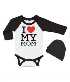 I Love my MOM Baby Gift set
