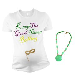 Keep the Good Times Rolling Maternity Top