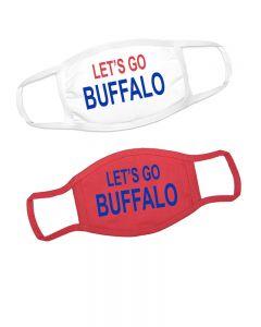 Lets Go Buffalo Face Masks