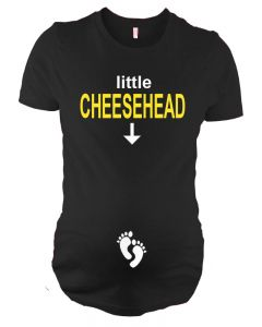 Little Cheesehead Maternity Top