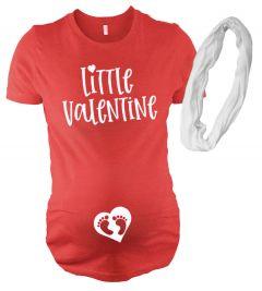 Little Valentine Maternity Shirt