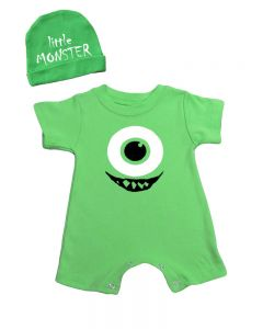Little Monster Baby Outfit