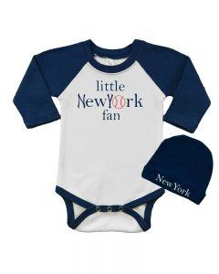 Little New York Fan - Bodysuit and cap set
