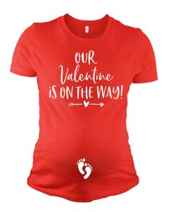 Pregnancy Ananouncement - Our Valentine is on the Way