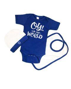 Hanukkah Baby Set - Oy to the world
