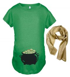 Pot of Gold Maternity Top