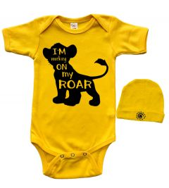 Baby Gift Set - I am Working on My Roar